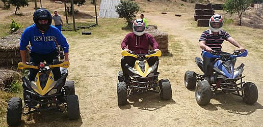 Circuito de quads en AlmoroxBall - Toledo