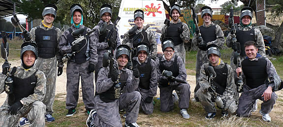 PaintBall en AlmoroxBall, Toledo