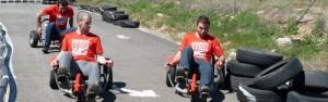 Circuito de bicis locas